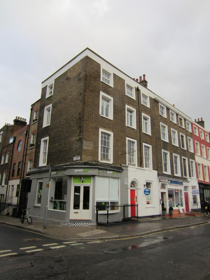 Dickens's first home in London still stands.