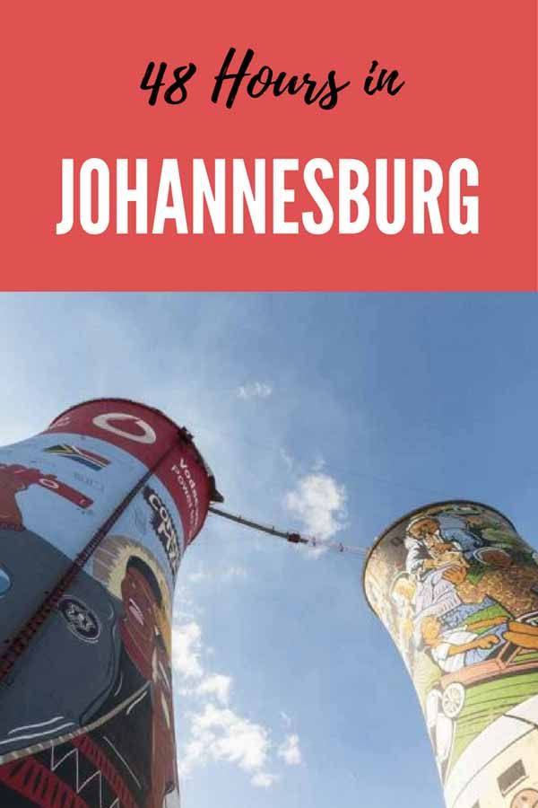 Are you planning to visit Johannesburg? Here are our favourite things to do in Johannesburg and Soweto and what to do if you're spending 48 hours in Johannesburg! Including our fave Johannesburg boutique hotel.
