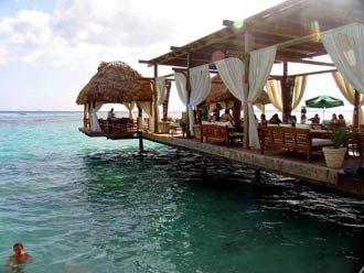 Boca Chica Beach - Juan Dolio Beach, Dominican Republic  Most romantic restaurant I've ever been to!!!