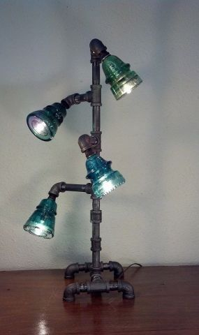 1000 Ideas About Insulator Lights On Pinterest Glass
