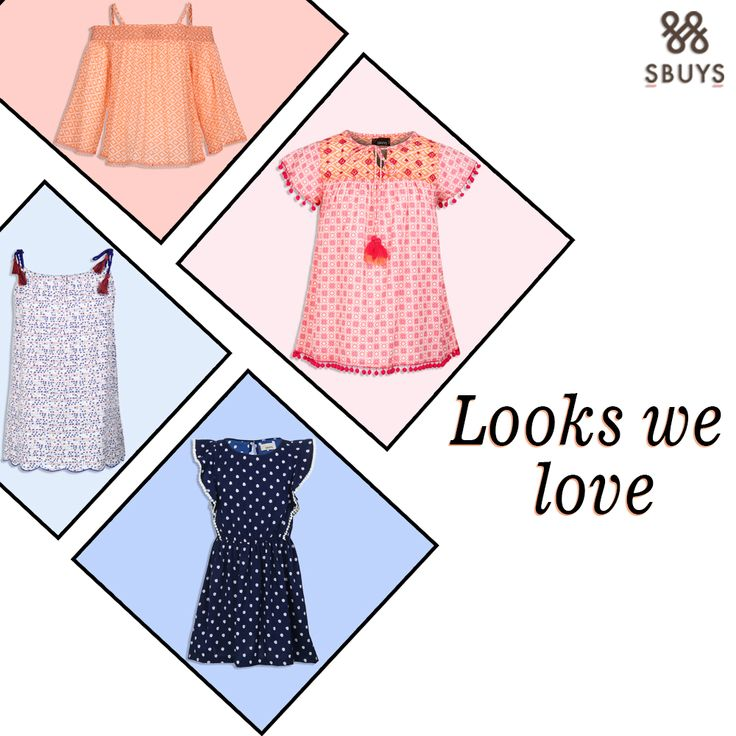 Looks we Love !! Try Kids collection @ http://www.sbuys.in #sbuys #womenswear #stylediva #latesttrends #fashionistas #newcollection #elegant #urbanstylewear #springseason #huesandtints #newarrivals #summers #kidswear
