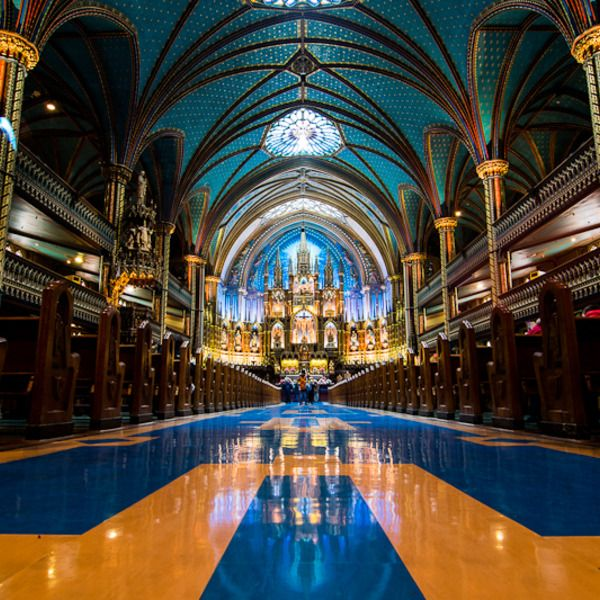 Check out this list: Iconic, Historic Old Montreal