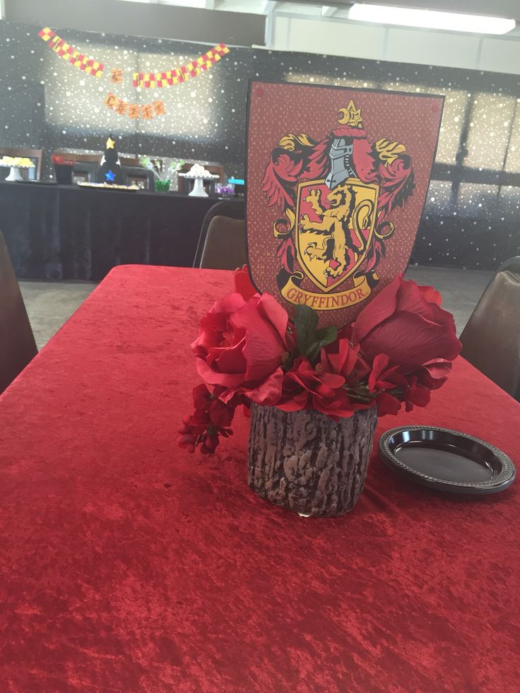 Harry Potter centerpiece