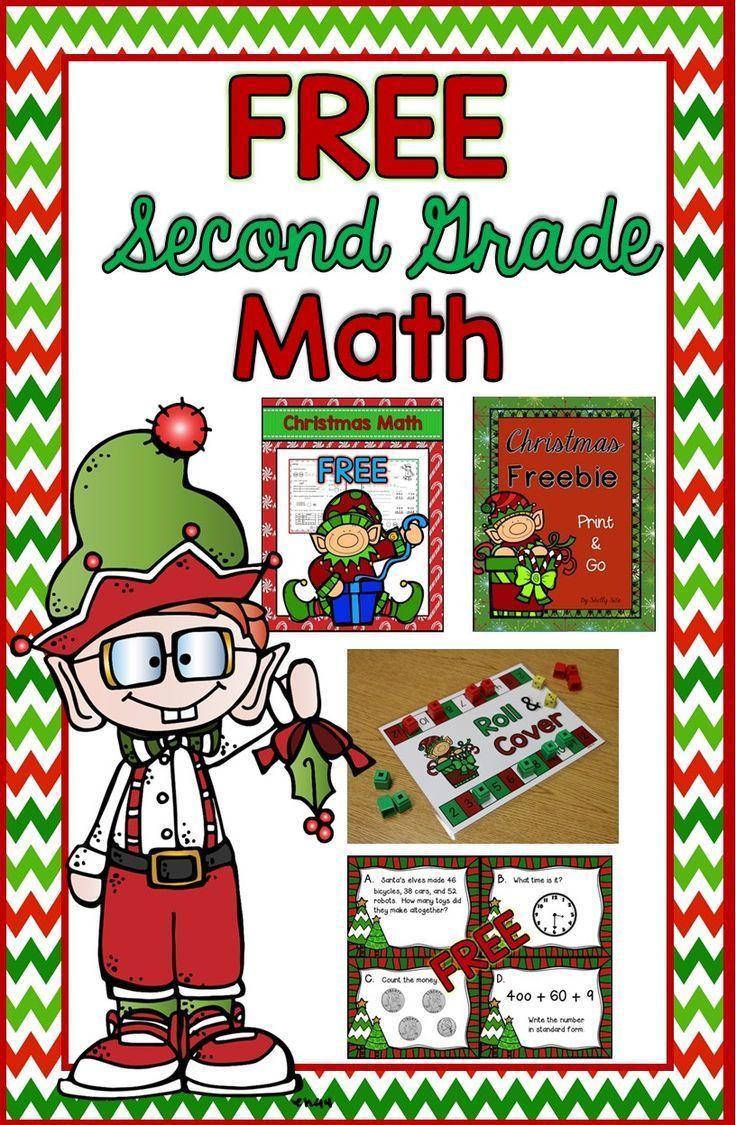 Christmas Math For 2nd Grade FREE Math Christmas Task