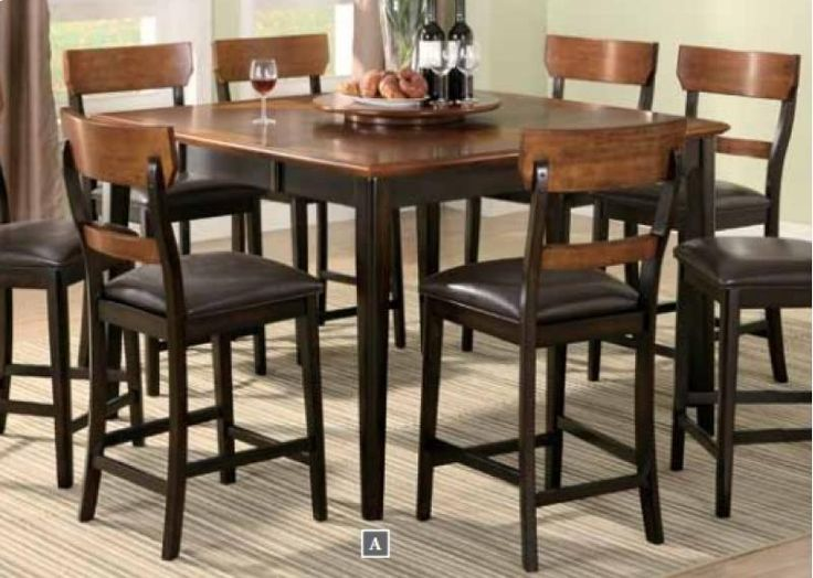 Coaster Furniture Franklin Counter Height Dining Table