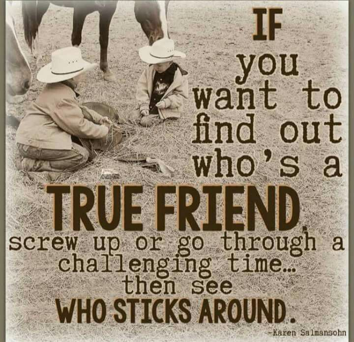 Quotes On Wah A True Friend Is: Cowboy Wit & Wisdom