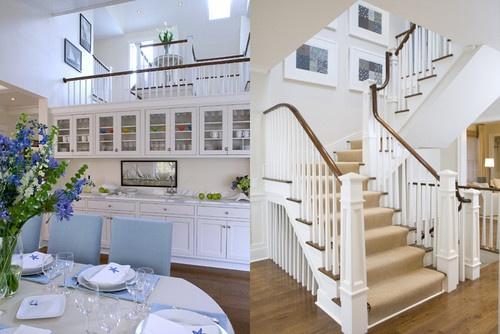 Beach house tour redefining nantucket style with modern for Habitaciones pintadas