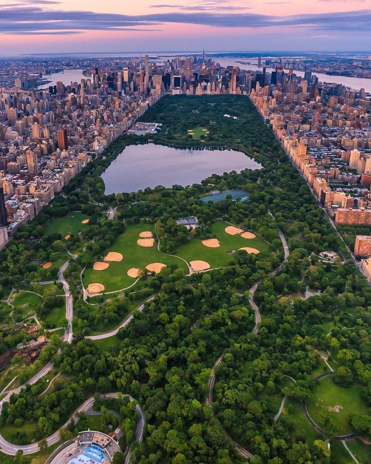 Central Park from above by killahwave by newyorkcityfeelings.com - The Best Photos and Videos of New York City including the Statue of Liberty Brooklyn Bridge Central Park Empire State Building Chrysler Building and other popular New York places and attractions.