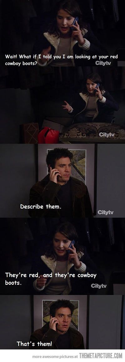Classic Ted Mosby…