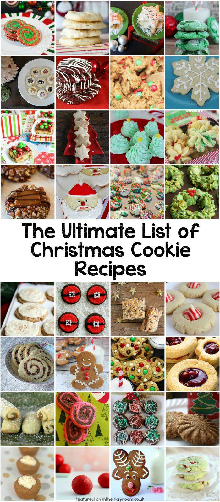 The Ultimate Collection of 85 Christmas Cookie Recipes