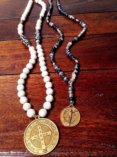 Benedictine Medals | DOVA | dovajewels@gmail.com