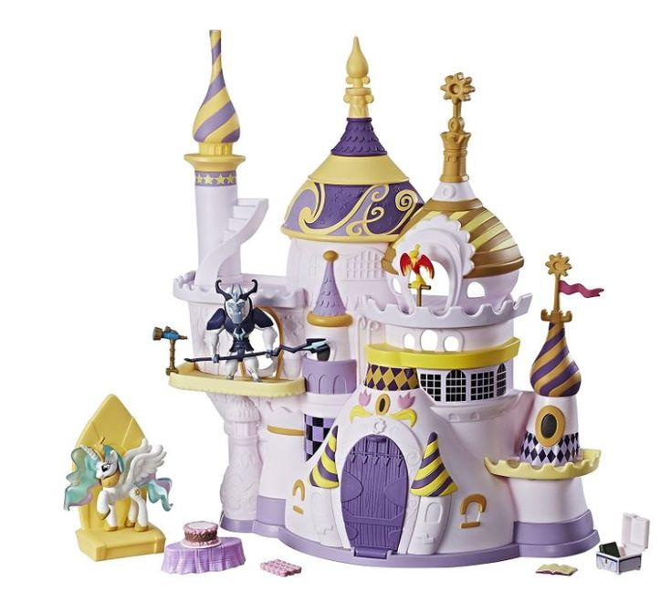 MY LITTLE PONY Friendship is Magic Collection Canterlot Castle Playset (affiliate link)