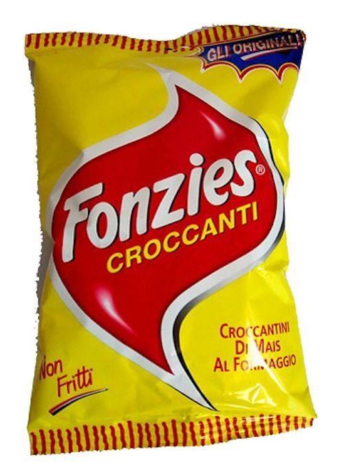 Fonzies, croccantini di mais al formaggio fatti in casa