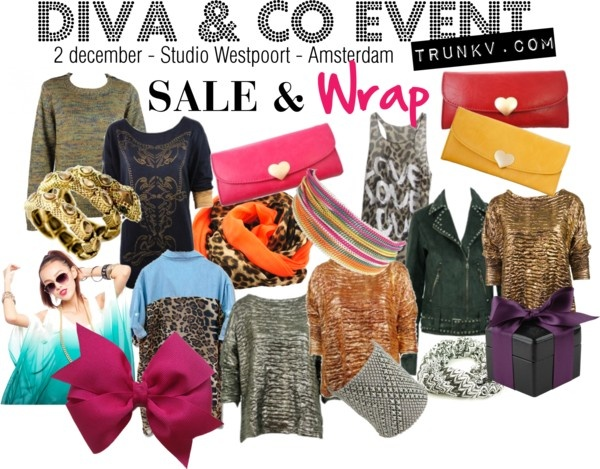 """""""Diva & Co event - 2dec2012 - Trunk V - Amsterdam"""" by trunk-v on Polyvore"""