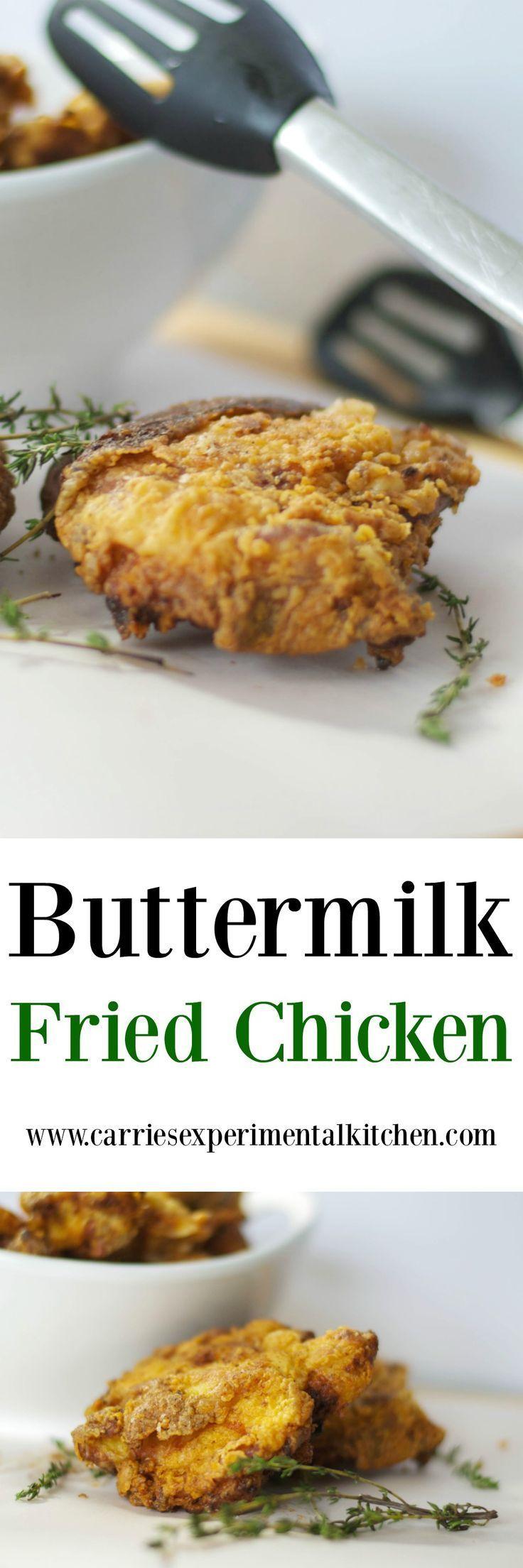 M s de 25 ideas incre bles sobre bone in chicken thighs en for Table 52 buttermilk fried chicken recipe