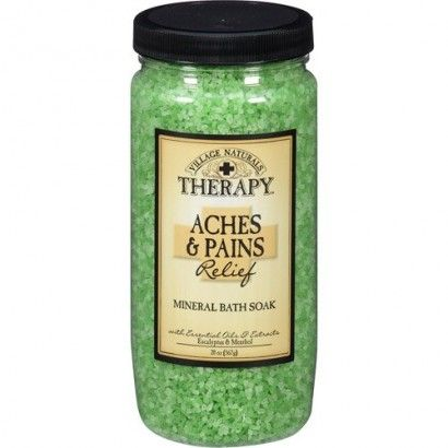 Photo of Village Naturals Therapy Mineral Bath Soak, Aches & Pains, 20 oz (567 g) $7.99