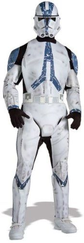 Deluxe Clone Trooper Costume  XLarge  Chest Size 50 >>> You can get more details by clicking on the image.