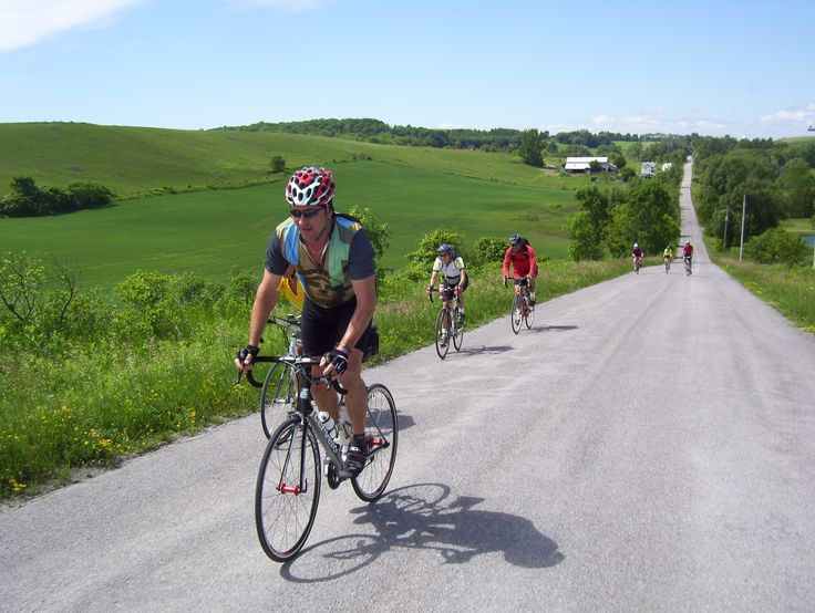 Cycling Northumberland's rolling hills. #Ontario #cycling http://www.northumberlandtourism.com/en/outdoor-adventure/Cycling.asp