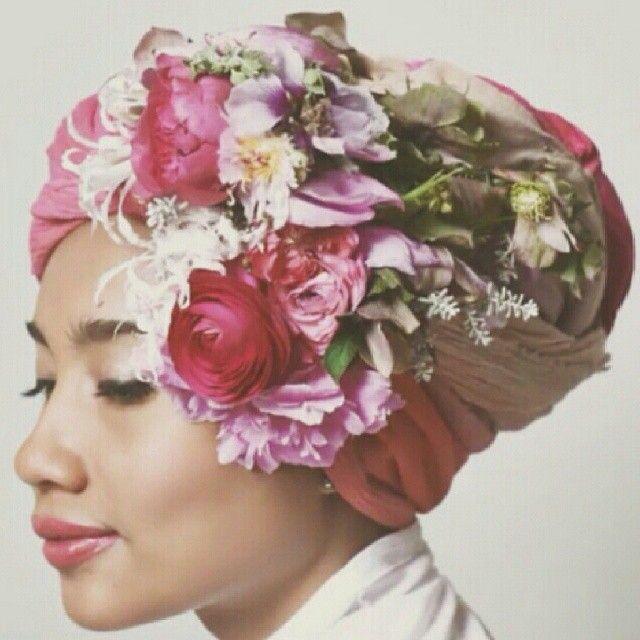 Yuna Zarai | hair & head wraps | Pinterest | Don't let ...