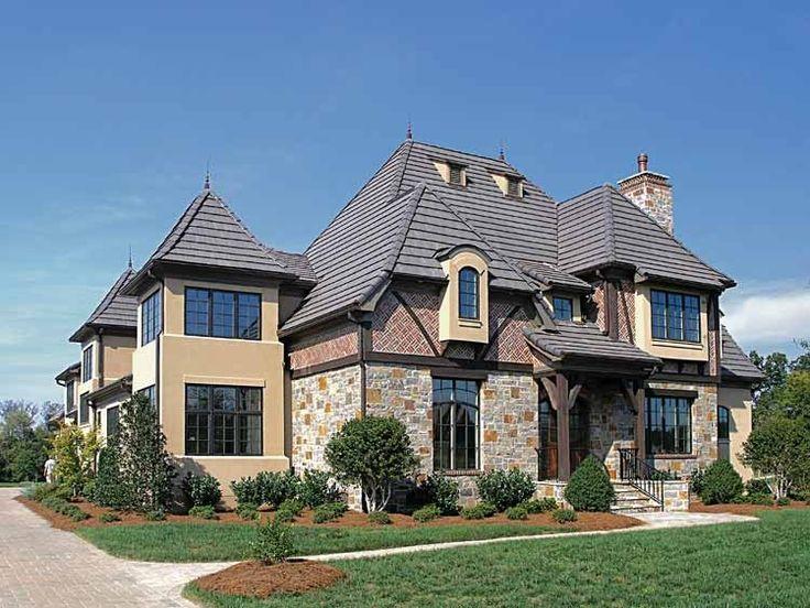 Best House Plans Images On Pinterest European House Plans - European homes and house plans