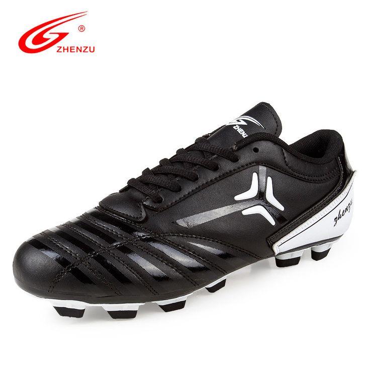 ZHENZU 2017 New Adults Men's football boots sneakers Outdoor TF/FG soccer shoes chuteira futebol Training Football Shoes boots