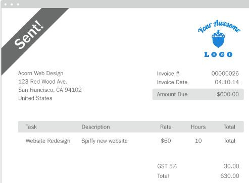 Goods Invoice - Generate Invoice for Goods