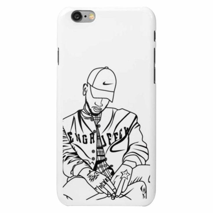 Bryson Tiller pen griffey trapsoul Apple IPhone 4 5 5s 6 6s Plus Samsung Galaxy Cell phone Case // Babes & Gents // www.babesngents.com