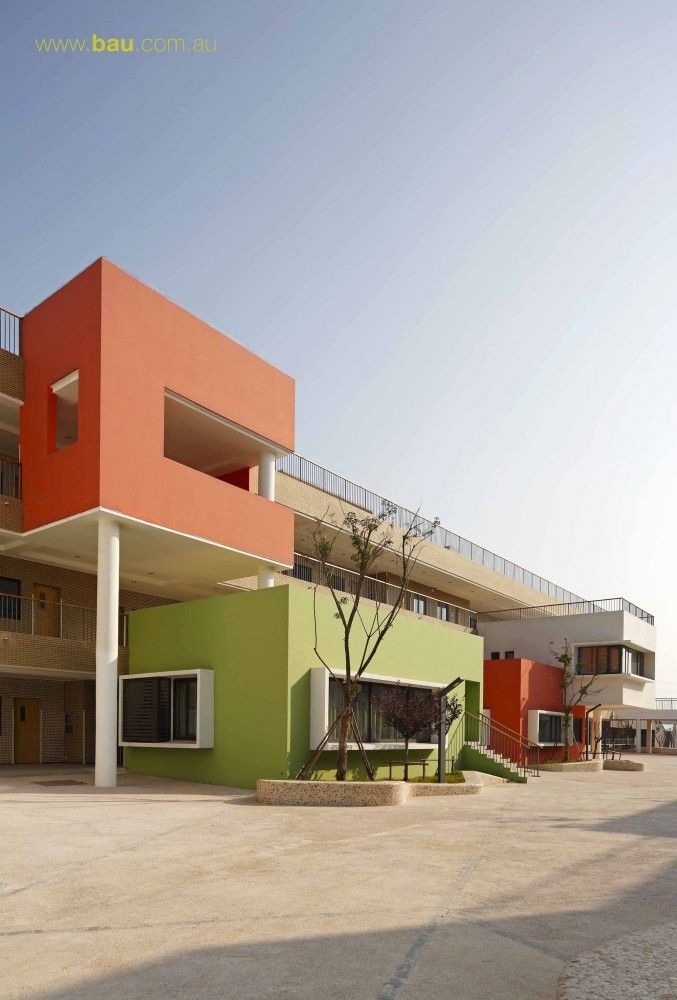 Jiangyin Primary & Secondary School / BAU Brearley Architects + Urbanists