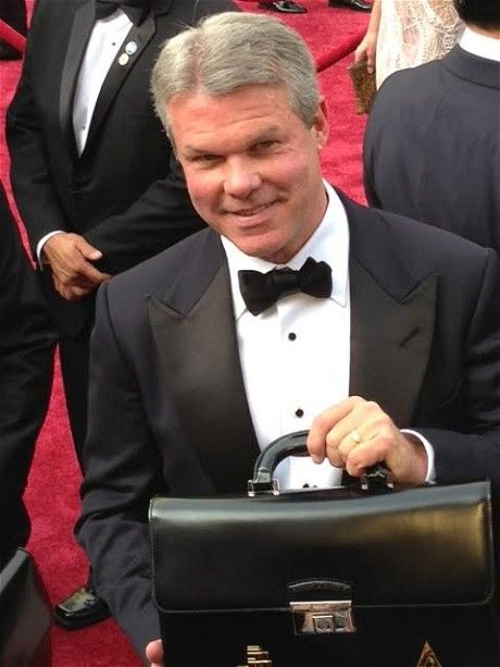 Oscars 2014: live - Telegraph Our Board Member Brian Cullinan delivering the top-secret briefcase with the winning envelopes!