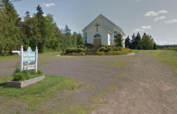 St Michael's Catholic Church River John Pictou County, Nova Scotia.