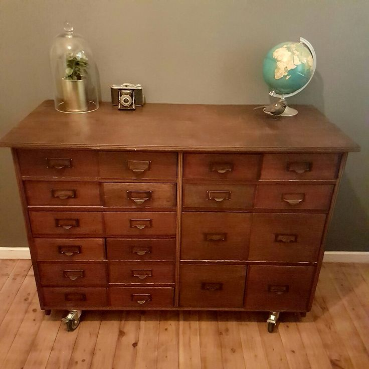 old science drawers