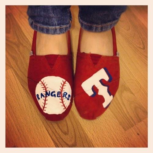Ready for some Rangers baseball <3