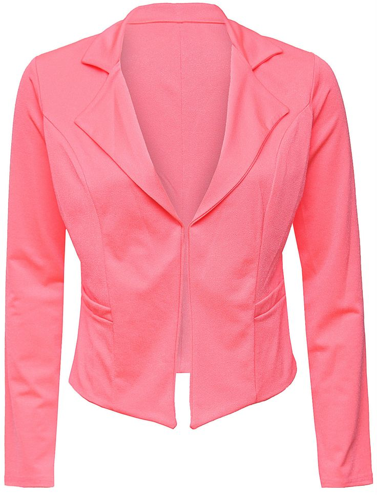 Love Neon Pink Blazer | Women's Clothing | www.loveonlinefashion.com
