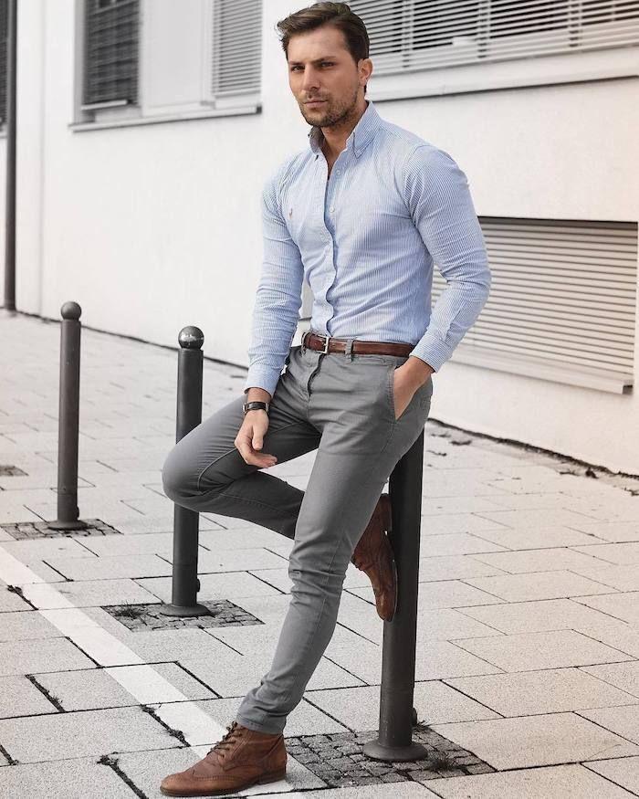 best website d4790 8387f ▷ 1001 + Ideen Thema: grauer Anzug welches Hemd passt dazu ...