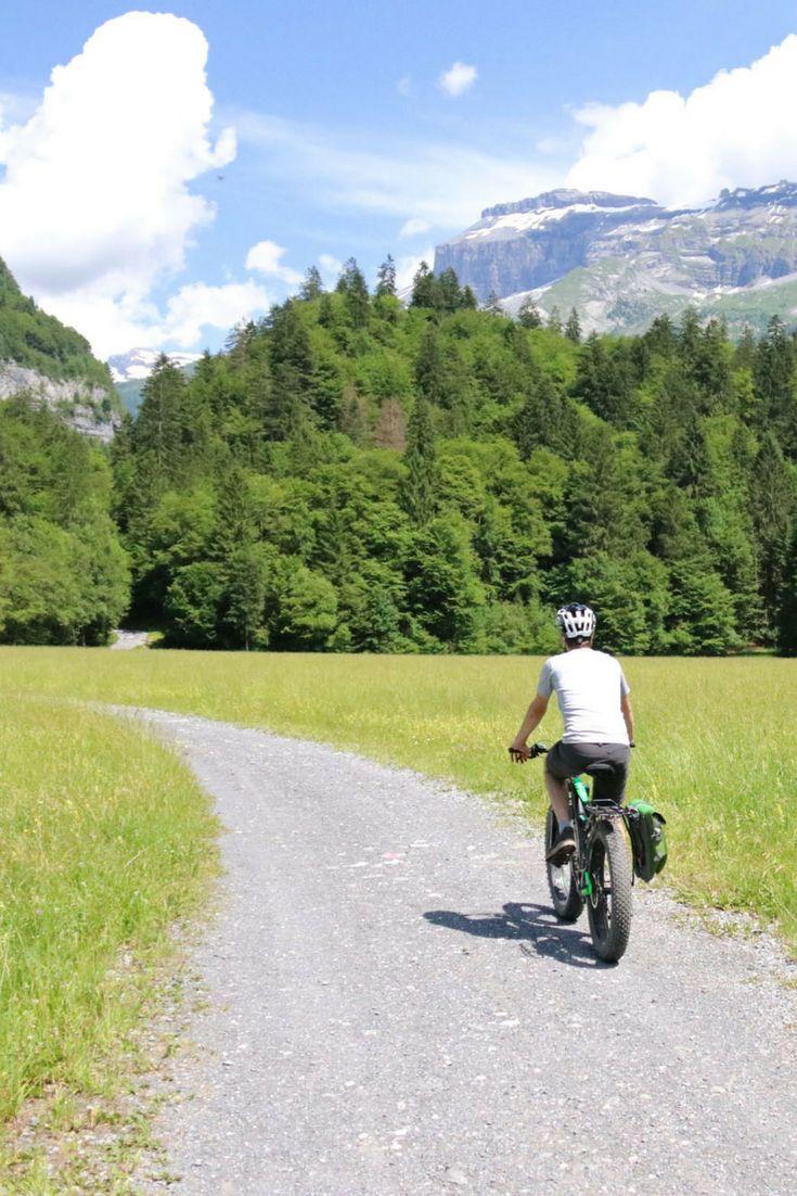 Fietsen in Frankrijk - Fatbike-tour vanuit Samoëns in de Franse Alpen. Rondje door het dal van Samoëns en Sixt, dorpjes en watervallen.
