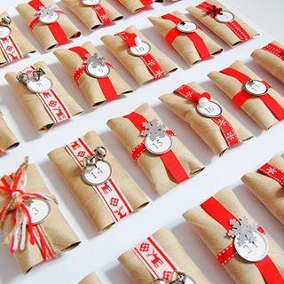 Calendario de adviento para llevar la cuenta atrás esta #Navidad #manualidades #niños