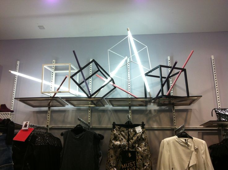AW12 cubes rods and tube lights