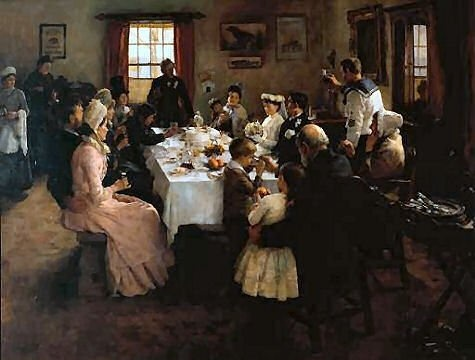 The Health of the Bride - Stanhope Alexander Forbes
