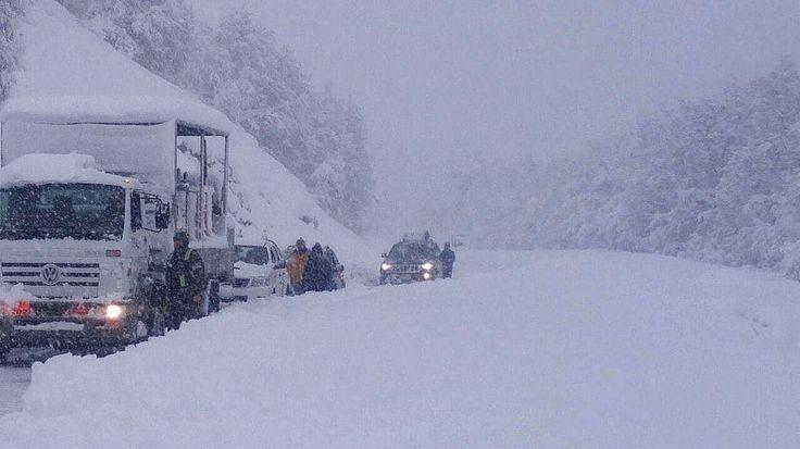 Batió record de temperatura más baja en Bariloche - Rio Negro - ARG  con más de -25º (bajo cero)
