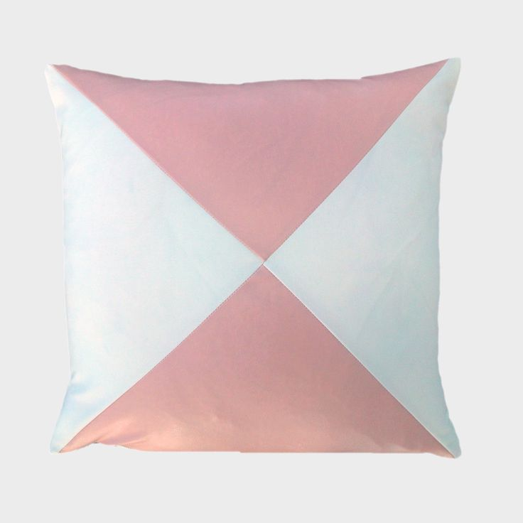 "This Pretty in Pink pillow is chic and very trendy!  Add it to any room, literally! Available in 18""x18"" & 24""x24"".  Feather down insert included! Starts at $59.99 #pinkpillow #pillows #trendypillow #modernpillow #canada #maxillary #cushion"