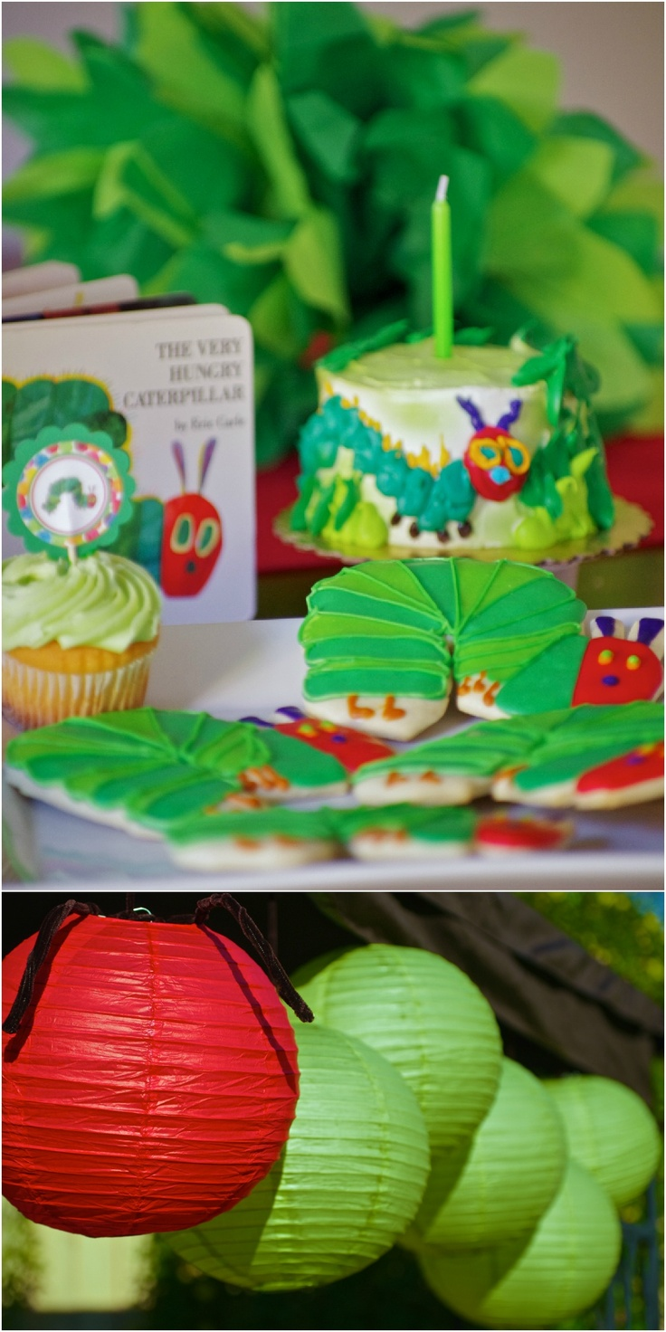 The Very Hungry Caterpillar Party Ideas: Birthday Hungry Caterpillar, Birthday Veryhungrycaterpillar, 1St Birthday, Party Idea, Birthday Ideas Toddler, Adorable Kids, Birthday Party