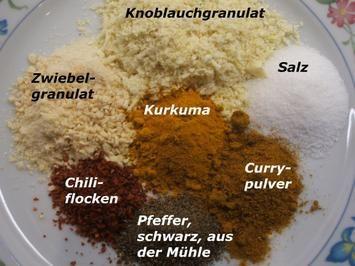 Vorrat: Indische Gewürzmischung - Rezept