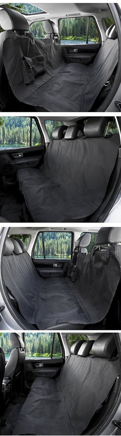 Car Seat Covers 117426: Barksbar Original Pet Seat Cover For Large Cars, Trucks And Suvs - Black, And -> BUY IT NOW ONLY: $38.3 on eBay!