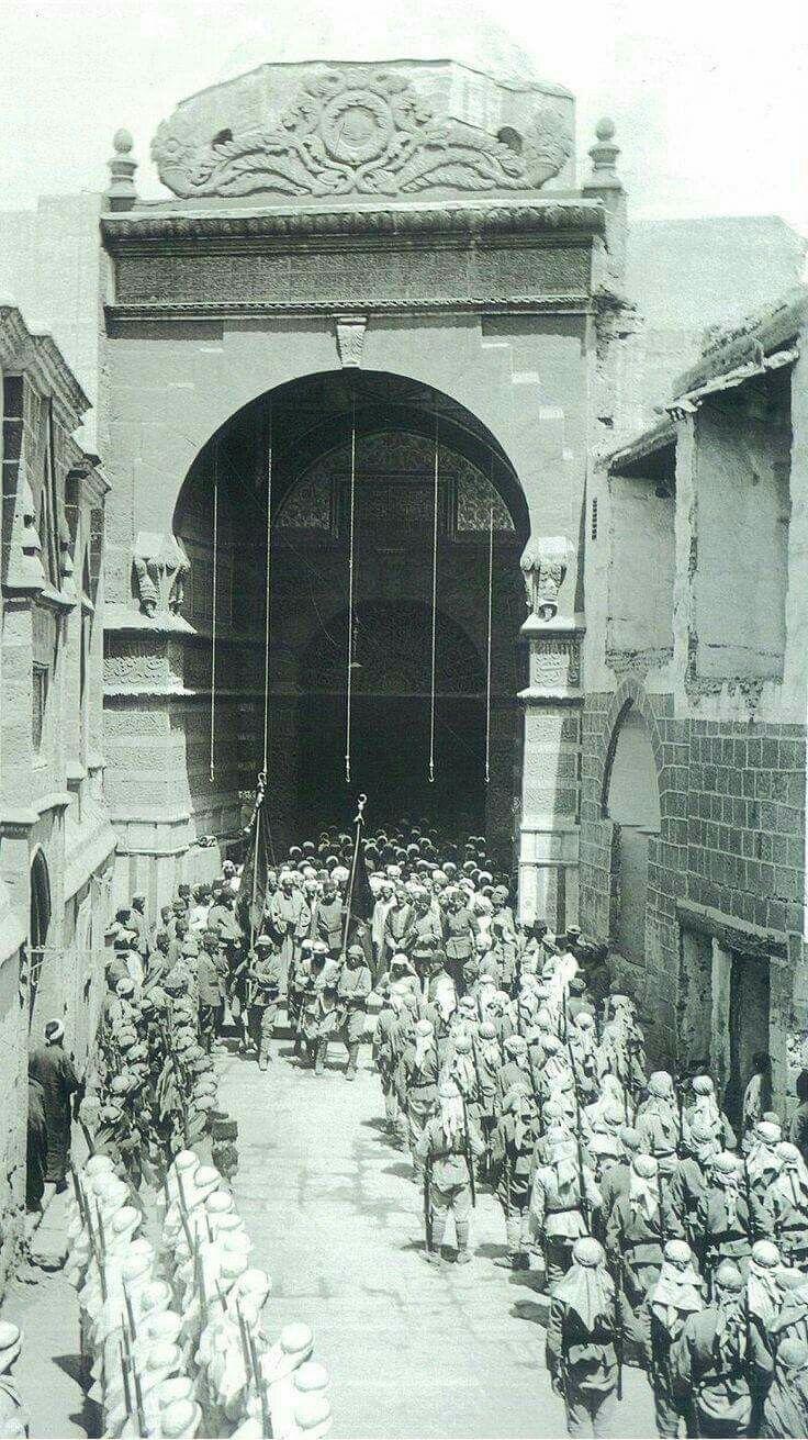 Al Madina al Monera in the days of the Ottoman Empire