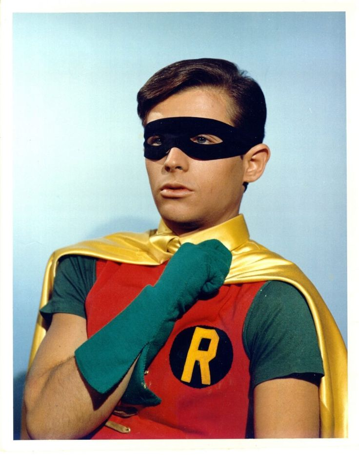 Burt Ward Burt Ward as Robin