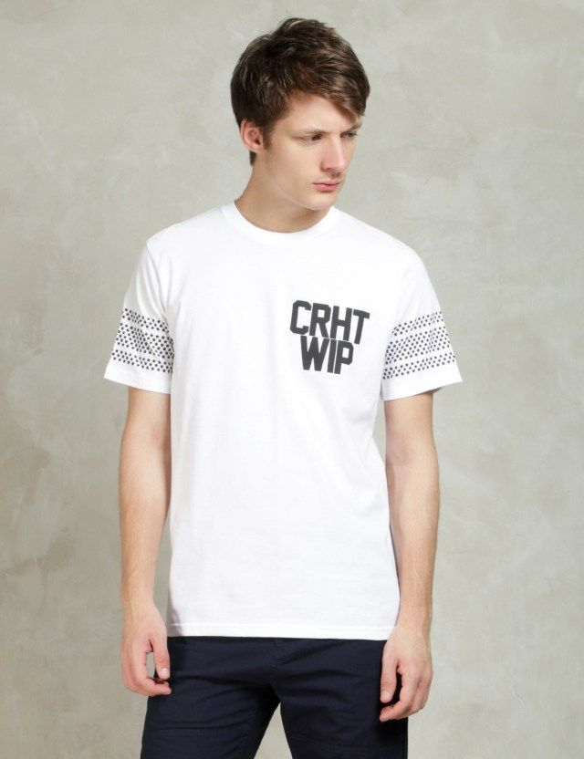Carhartt Work In Progress White/Black S/S Brooklyn T-Shirt