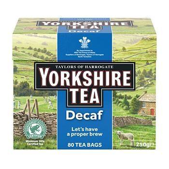 - イギリス雑貨と紅茶とハーブティーのお店 English Specialities ディカフェ ヨークシャー紅茶 80ティーバッグ