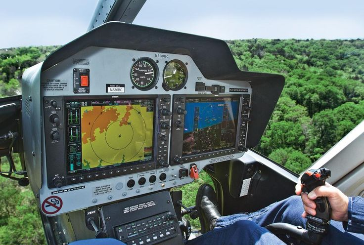 Bell 407 GX Glass Cockpit