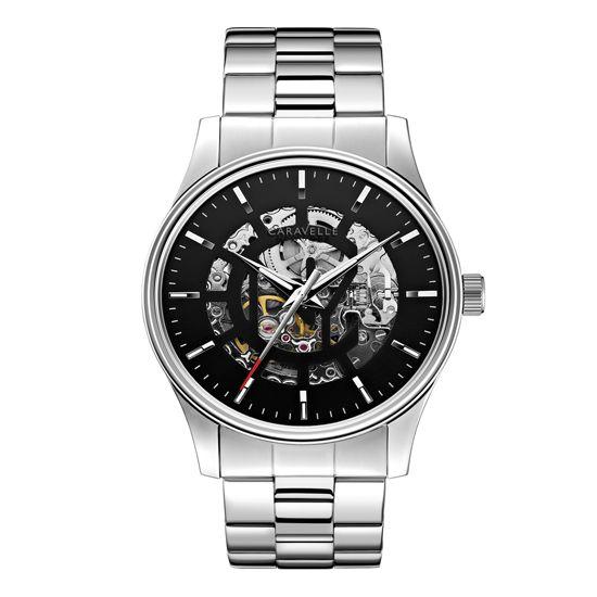 Caravelle New York - Men\'s Arnold Silver Steel Bracelet Watch - 43A124 - RRP: £119.00 - Online Price: £101.00