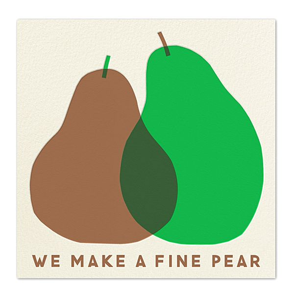 'We Make A Fine Pear' by Erin Jang